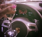 Lemon water, a Porsche party, eyelash extensions & micro blading