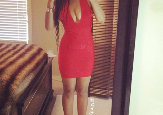 tight sexy red dress