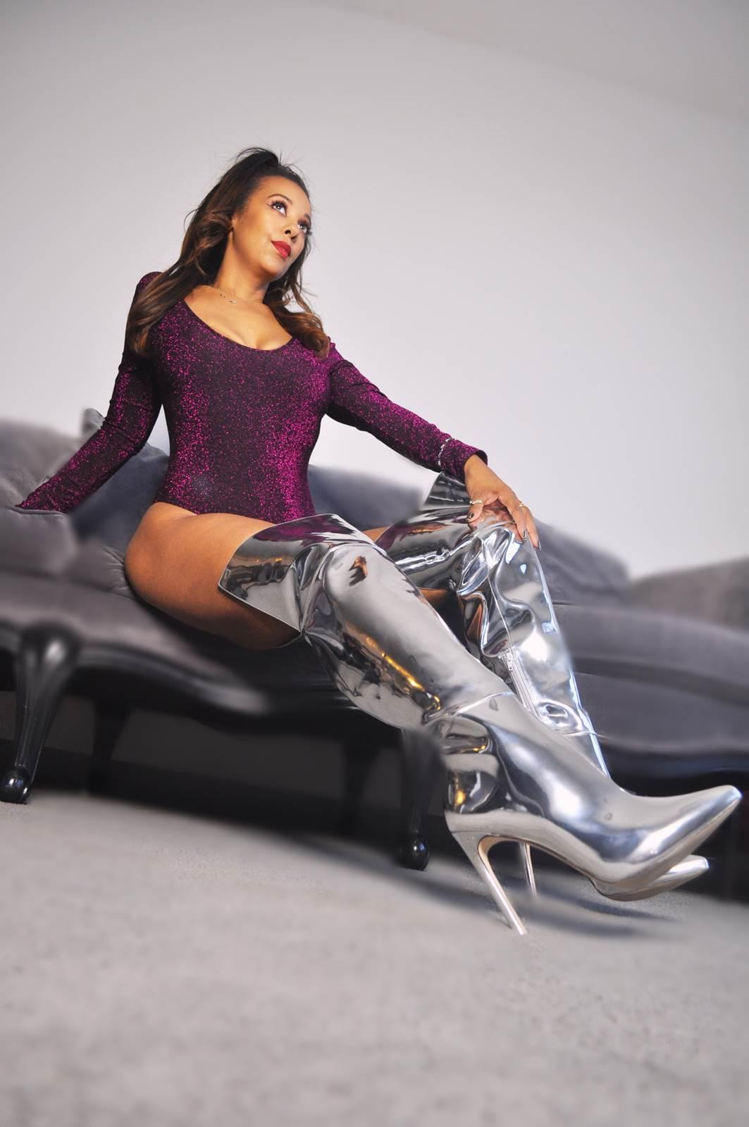 boots worship domination goddess